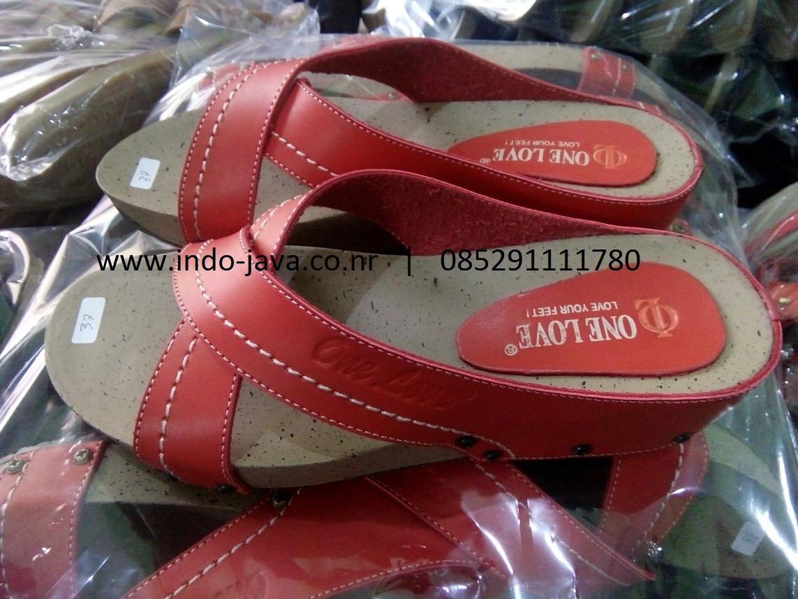 Sandal One Love Puyuh Silang Super   Grosir Sandal Tasikmalaya