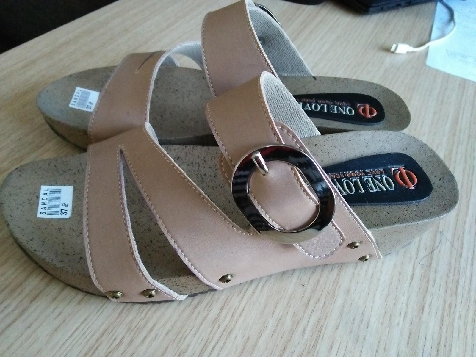 Grosir Sandal wanita PUYUH Kokop Silang | Grosir Sandal ...